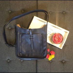 Beautiful Navy Blue Crossbody Bag JustFab